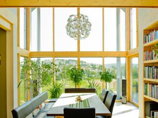 Wohnhaus W. in Nüdlingen Esszimmer im Landhausstil von Achtergarde + Welzel Architektur + Interior Design Landhaus