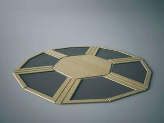 Programmable Table Soggiorno minimalista di Wood-Skin® Minimalista