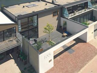 woonhuis IJburg:  Huizen door SEP  Blauwdruk architecten, Modern
