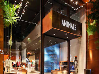 Animale - Oscar freire Santa Irreverência Arquitetura Design e Construção Lojas & Imóveis comerciais modernos