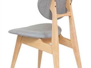 krzesło | szara perła: styl , w kategorii  zaprojektowany przez Magiel,