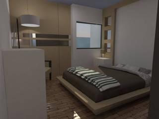inte # 45 Dormitorios modernos de Taller R arquitectura Moderno
