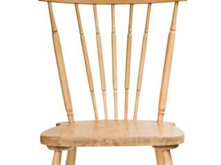 komplet dębowych krzeseł: styl , w kategorii  zaprojektowany przez Magiel,