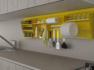 Nichos Organizadores para Cozinha:   por Masutti Copat