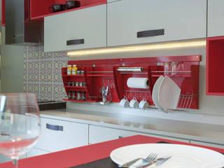 Nichos Organizadores para Cozinha:   por Masutti Copat,Moderno