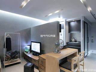 Cocinas de estilo moderno de MID 먹줄 Moderno