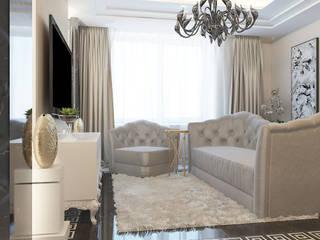 Salon moderne par Частный дизайнер и декоратор Девятайкина Софья Moderne