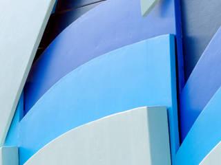 Casas modernas de Mineralit - Mineralgusswerk Laage GmbH Moderno
