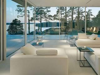 Salas de estilo minimalista de Daire Tadilatları Minimalista