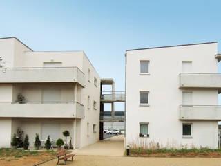 34 logements, ZAC du TEC, MARGUERITTES (30):  de style  par ARCHITECTE NEVIERE