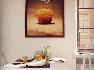 EAT ME! Wall art collectie by Dwarst: modern  door Dwarst, Modern
