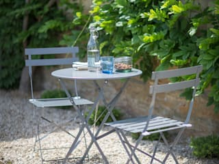 Bistro Table and Chair Set:   by Garden Trading