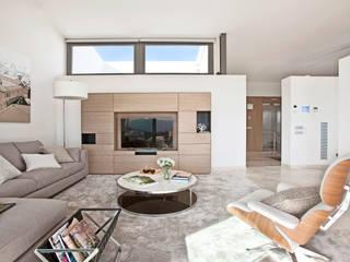 Projekty,  Salon zaprojektowane przez IND Archdesign