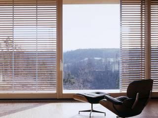Atelier in Rottweil Moderne Fenster & Türen von lehmann_holz_bauten Modern