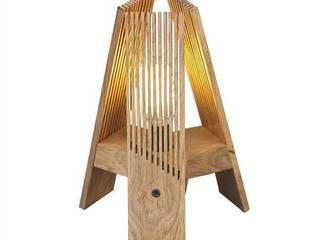 LAMPE EN BOIS LA003 - KRÄFTIG:  de style  par Flash Design Store