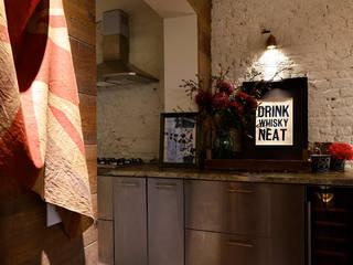 Notting Hill Maisonette: eclectic Kitchen by Barlow & Barlow Design