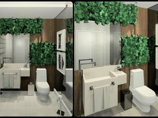 Lavabos Banheiros modernos por Kubbo Arquitetos Moderno