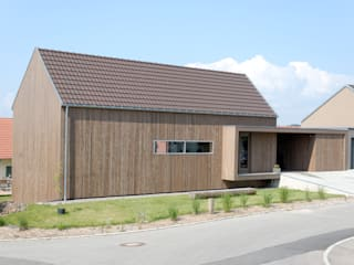 Wohnhaus in Donaueschingen-Aasen:  Häuser von lehmann_holz_bauten