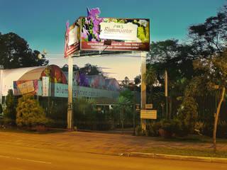 Fachada da Loja: Espaços comerciais  por Blumengarten Plantas e Flores LTDA