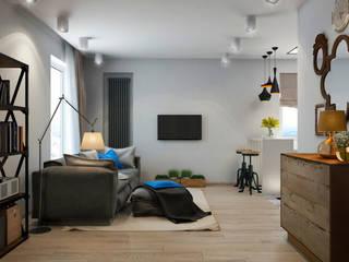 Living room by tatarintsevadesign, Mediterranean