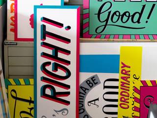 Signpainted Projects:   door Lennart Wolfert - Graphic Artist, Minimalistisch