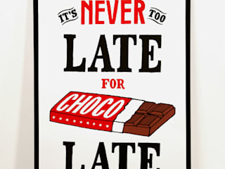 It's Never Too Late For Chocolate:   door Lennart Wolfert - Graphic Artist