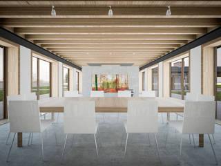Honey, I shrunk the kids: Sala da pranzo in stile  di Memento Architects