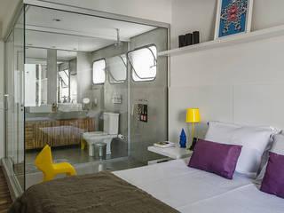 Apartamento Vila Nova Conceição Quartos modernos por Marcella Loeb Moderno