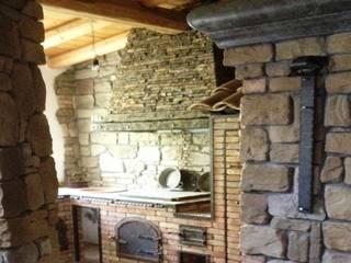 Medievale : Cucina in stile  di Geometra Montalto Antonio
