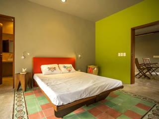 TACO Taller de Arquitectura Contextual Modern style bedroom