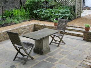 Sunken garden:  Garden by Greenmans Yard