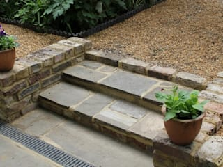 York stone:  Terrace by Greenmans Yard
