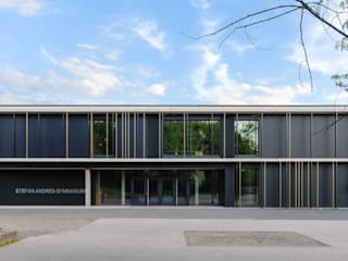 AUF LANGE SICHT GEORDNET - Stefan Andres Gymnasium Moderne Schulen von ALUCOBOND - 3A Composites GmbH Modern