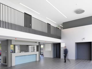 MEDIATING ELEMENTS - Technopark Siemens AG by ALUCOBOND - 3A Composites GmbH Modern
