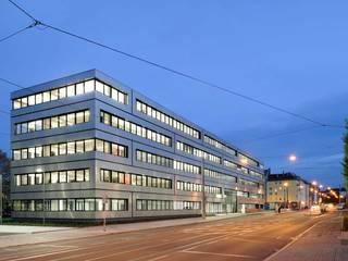 VERMITTELNDE ELEMENTE - Technopark Siemens AG Moderne Bürogebäude von ALUCOBOND - 3A Composites GmbH Modern