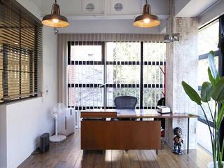 有限会社スタジオA建築設計事務所 Rustic style study/office