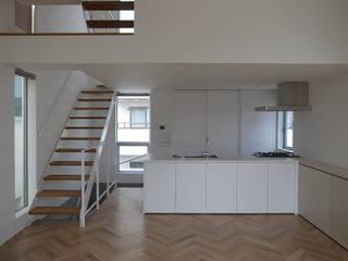 有限会社スタジオA建築設計事務所 Modern kitchen