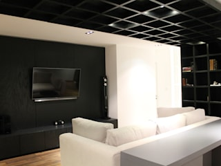 غرفة الميديا تنفيذ Hat Diseño