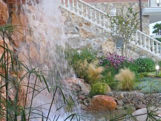 Mediterranean style garden by LANDSHAFT Mediterranean