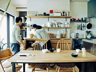 家族と共に成長する家 北欧デザインの ダイニング の GRID DESIGN 株式会社 北欧