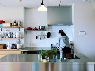 家族と共に成長する家 北欧デザインの キッチン の GRID DESIGN 株式会社 北欧