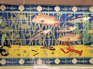 Fish tile panels by Reptile tiles & ceramics Classic