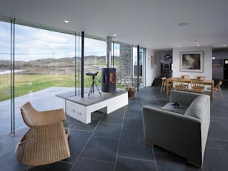 The White House, Isle of Coll WT Architecture Living room