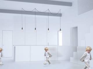 Maison T Cuisine minimaliste par Thibaudeau - Architecte Minimaliste