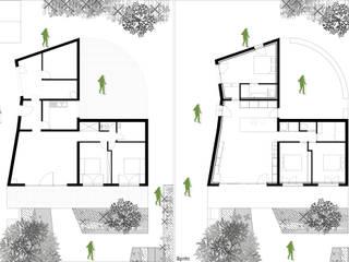 Maison T:  de style  par Thibaudeau - Architecte