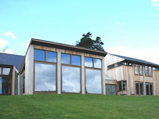 New house in Sussex Giles Jollands Architect Modern Evler