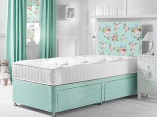 English Rose Seafoam Divan Bed: country  by Little Lucy Willow, Country
