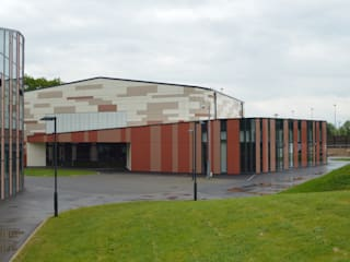St Bartholomew's School Enhancement Project ArchitectureLIVE Modern schools Multicolored