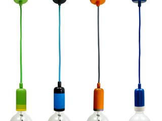 Lampa NaOprawka Kolorowa od Pracownia Sztuki Użytkowej Minimalistyczny