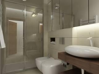 Modern bathroom by Studio architektoniczne Premiere Design Warszawa Modern